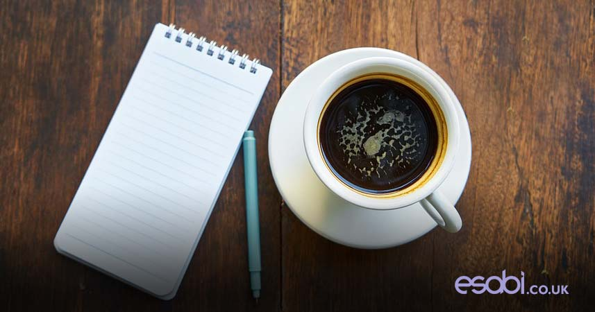 Coffee & Notepad